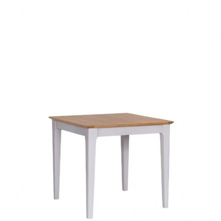 Newhaven Grey Painted Small Fixed Top Table